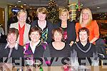 FESTIVE FUN: Member's of Maria's Art Class, Ballyroe enjoying their Christmas party at the Kingdom Greyhound Stadium on Saturday seated l-r: Eileen Ní Loinsigh, Joan Fitzgerald, Maria Fitzgerald and Geraldine O'Shea. Back l-r: Mary Lynch, Breda Talbot, Vara Power and Joan O'Keeffe.