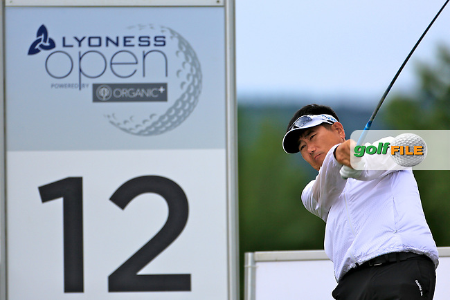 Y.E.Yang (KOR) during the ProAm ahead of the Lyoness Open powered by Organic+ played at Diamond Country Club, Atzenbrugg, Austria. 8-11 June 2017 April.<br /> 07/06/2017.<br /> Picture: Golffile | Phil Inglis<br /> <br /> <br /> All photo usage must carry mandatory copyright credit (&copy; Golffile | Phil Inglis)