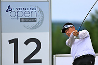 Y.E.Yang (KOR) during the ProAm ahead of the Lyoness Open powered by Organic+ played at Diamond Country Club, Atzenbrugg, Austria. 8-11 June 2017 April.<br /> 07/06/2017.<br /> Picture: Golffile   Phil Inglis<br /> <br /> <br /> All photo usage must carry mandatory copyright credit (&copy; Golffile   Phil Inglis)