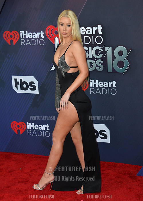 Iggy Azalea at the 2018 iHeartRadio Music Awards at The Forum, Los Angeles, USA 11 March 2018<br /> Picture: Paul Smith/Featureflash/SilverHub 0208 004 5359 sales@silverhubmedia.com