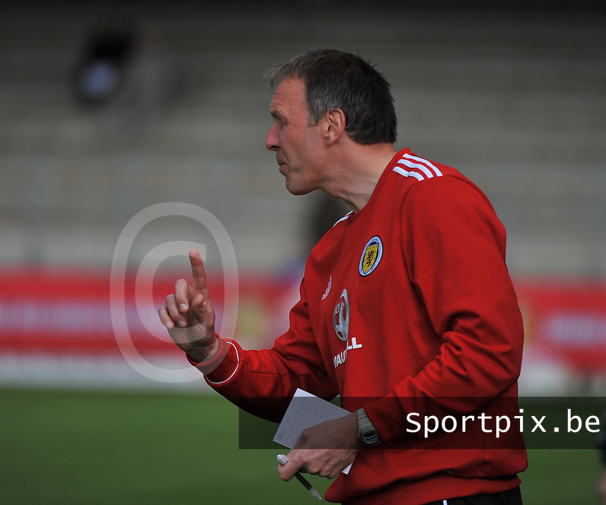 Scotland U19 - Belgium U19 : .foto DAVID CATRY / Nikonpro.be