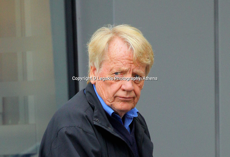 Pictured: George Deakin outside Swansea Magistrates Court.<br />