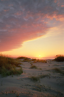 Sunrise over the Atlantic Ocean<br />