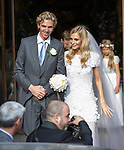 The Wedding of Poppp Delevigne and James Cook<br /> St Paul's Church, Knightsbridge 17.5.2014