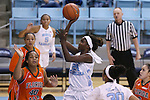 17 November 2015: North Carolina's Destinee Walker (24). The University of North Carolina Tar Heels hosted the Florida A&M University Rattlers at Carmichael Arena in Chapel Hill, North Carolina in a 2015-16 NCAA Division I Women's Basketball game. UNC won the game 94-58.