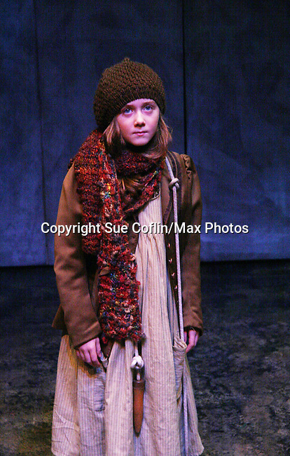 """Isabella Convertino (daughter of Liz Keifer) stars as Mary Lennox as Philipstown Depot Theatre presents The Secret Garden on November 7, 2009 in Garrison, New York. It runs Oct. 23 until Nov 15, 2009. The musical The Secret Garden is the story of """"Mary Lennox"""", a rich spoiled child who finds herself suddenly an orphan when cholera wipes out the entire Indian village where she was living with her parents. She is sent to live in England with her only surviving relative, an uncle who has lived an unhappy life since the death of his wife 10 years ago. """"Archibald's son Colin"""", has been ignored by his father who sees Colin only as the cause of his wife's death.This is essentially the story of three lost, unhappy souls who, together, learn how to live again while bringing Colin's mother's garden back to life. (Photo by Sue Coflin/Max Photos)...."""
