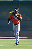 San Francisco Giants Jacob Heyward (35) during an Instructional League game against the Chicago White Sox on October 10, 2016 at the Camelback Ranch Complex in Glendale, Arizona.  (Mike Janes/Four Seam Images)