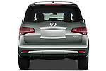Straight rear view of a 2011 Infiniti Q56