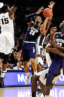Wednesday, January 4, 2016: Georgetown Hoyas guard Rodney Pryor (23) goes in for the shot during the NCAA basketball game between the Georgetown Hoyas and the Providence Friars held at the Dunkin Donuts Center, in Providence, Rhode Island. Providence defeats Georgetown 76-70 in regulation time. Eric Canha/CSM