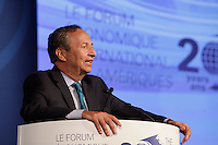 Lawrence H. Summers,<br /> Charles W. Eliot University Professor, Harvard University's Kennedy School of Government; U.S. Secretary of the Treasury, 1999-2001 attend the International Economic Forum of the Americas 20th Edition, from June 9-12, 2014 <br /> <br />  Photo : Agence Quebec Presse - Pierre Roussel