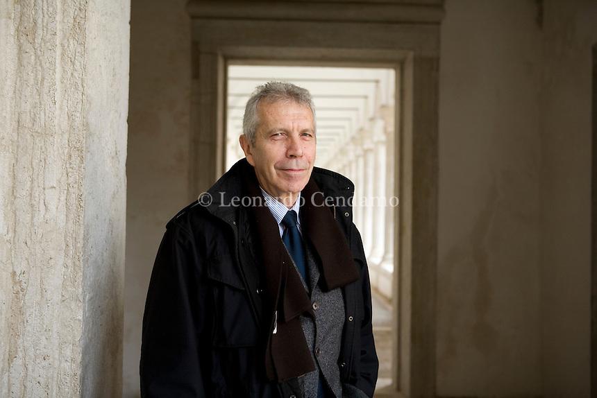 Venice, Italy, 2008. Renzo Guidieri, General Director of Garzanti editorial group.