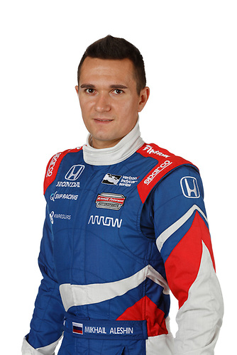 2 February, 2016, Indianapolis, Indiana USA<br /> Mikhail Aleshin<br /> ©2016, Michael L. Levitt<br /> LAT Photo USA