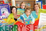 BINGO TIME: Checking out details of the Killorglin Library Book Bingo project on Friday last were Gillian Kelly (Killorglin Library), Chloe Corkery (Killorglin), Caoimhe Corkery (Killorglin) and Aibhlin Hayes (Killorglin Library)..