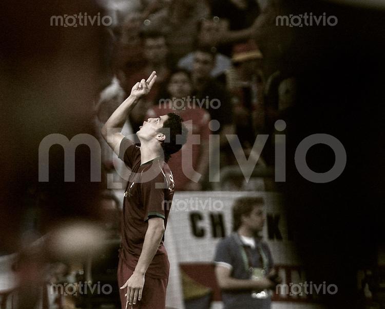 Fussball WM 2006  Viertelfinale  England - Portugal Christiano Ronaldo (POR)