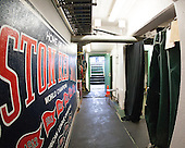 Maine was assigned the Red Sox's batting cage as a makeshift dressing room. It did put them close to the dugout. - The University of Maine Black Bears defeated the Boston University Terriers 7-3 (2EN) on Saturday, January 11, 2014, at Fenway Park in Boston, Massachusetts.
