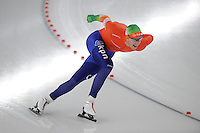 SCHAATSEN: BERLIJN: Sportforum, 06-12-2013, Essent ISU World Cup, 1500m Men Division B, Jan Blokhuijsen (NED), ©foto Martin de Jong