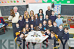 BIRDWATCHING: On Wednesday Gerard Doyle principal of Killahan NS invited Catriona McFadden (Mooney Radio 1 show) Susan O'Donoghue and John Lusby (Bird  watch/ in conjuction with the North/East Kerry Board KCC, to Killahan NS.