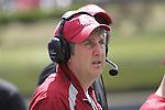 2012 Spring football practice at Washington State University, under new head football coach Mike Leach, culminates with the annual Crimson and Gray game, at Joe Albi stadium in Spokane, Washington, on Saturday, April 21, 2012.