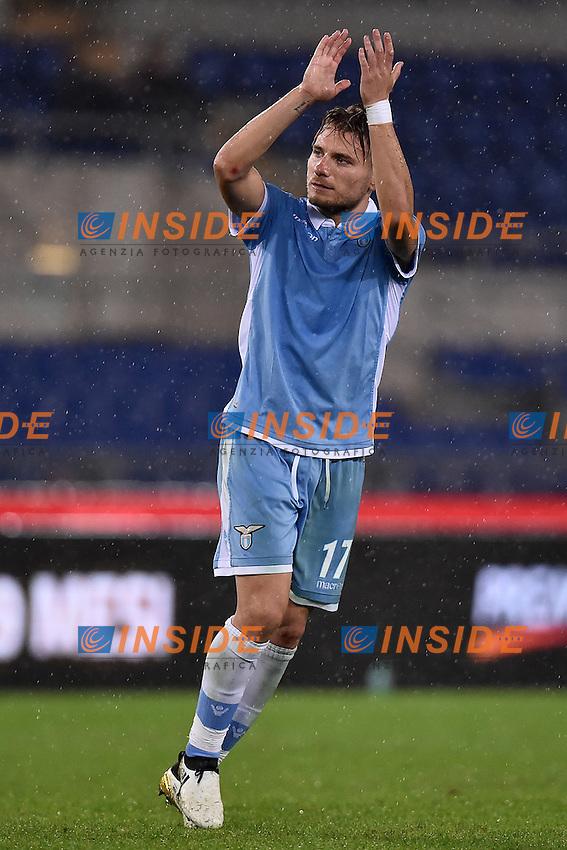 Ciro Immobile Lazio <br /> Roma 26-10-2016  Stadio Olimpico <br /> Football Calcio Serie A 2016/2017 Lazio - Cagliari <br /> Foto Andrea Staccioli / Insidefoto