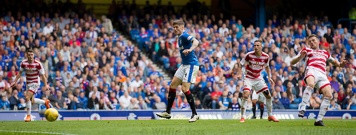 Rob Kiernan has a shot on goal in the dying seconds of the match
