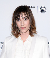 NEW YORK, NY - APRIL 24, 2014: Director Gia Coppola attend the screening Premiere of  Palo Alto during the 2014 Tribeca Film Festival at SVA Theater on April 24, 2014 in New York City  © HP/Starlitepics /NortePhoto