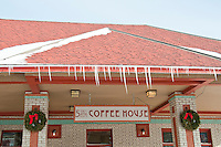 The 5th and Elm Coffee House in Calumet Michigan.