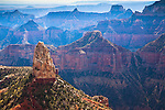 Point Imperial on the North Rim of Grand Canyon in Arizona