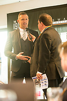 Lee Trundle talks to Kevin Johns <br /> Re: Behind the Scenes Photographs at the Liberty Stadium ahead of and during the Premier League match between Swansea City and Bournemouth at the Liberty Stadium, Swansea, Wales, UK. Saturday 25 November 2017