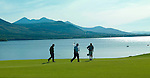 Golfers walk off the 4th green on the Killeen Course at Killarney Golf and Fishing Club home of the 3 Irish Open from July 29-Aug 1st.<br /> Picture by Don MacMonagle