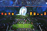 A general view of the opening ceremony prior to the match. Rugby World Cup Pool A match between England and Fiji on September 18, 2015 at Twickenham Stadium in London, England. Photo by: Patrick Khachfe / Onside Images