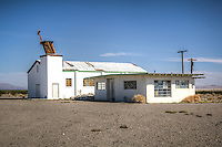 The old Amboy Church, Amboy California on Route 66.