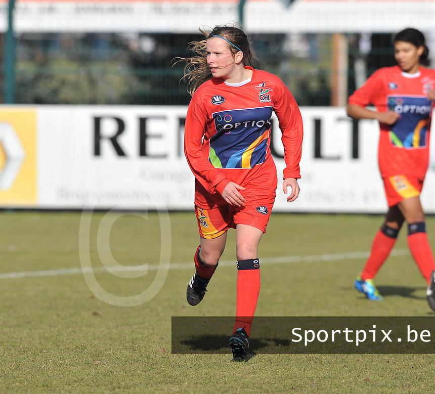 Oud Heverlee Leuven OHL : Karlijn Lycke.Foto David Catry / vrouwenteam.be / loft6.be