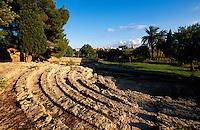 Spanien, Mallorca, römisches Theater (Teatro Romano) in Alcudia