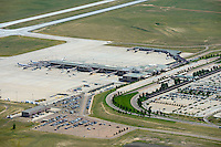 Colorado Springs, Colorado airport. June 2012