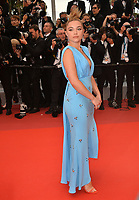 """CANNES, FRANCE. May 20, 2019: Florence Pugh at the gala premiere for """"La Belle Epoque"""" at the Festival de Cannes.<br /> Picture: Paul Smith / Featureflash"""