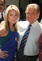 ***FILE PHOTO*** Regis Philbin Passes Away Aged 88.<br /> <br /> Kelly Ripa and Regis Philbin 2007<br /> <br /> CAP/MPI/PHL/JB<br /> ©JB/PHL/MPI/Capital Pictures