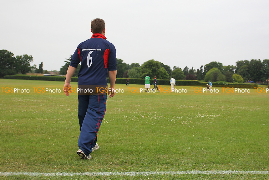 Last Man Stands Cricket at Hainault Recreation Ground - London Borough of Redbridge - 27/06/13 - MANDATORY CREDIT: Gavin Ellis/TGSPHOTO - Self billing applies where appropriate - 0845 094 6026 - contact@tgsphoto.co.uk - NO UNPAID USE