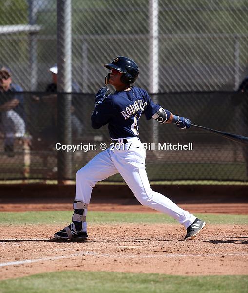 Carlos Rodriguez - 2017 AIL Brewers (Bill Mitchell)