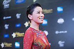 Charmaine Sheh at the Red Carpet event at the World Celebrity Pro-Am 2016 Mission Hills China Golf Tournament on 20 October 2016, in Haikou, China. Photo by Weixiang Lim / Power Sport Images