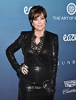LOS ANGELES, CA - JANUARY 05: Kris Jenner attends Michael Muller's HEAVEN, presented by The Art of Elysium at a private venue on January 5, 2019 in Los Angeles, California.<br /> CAP/ROT/TM<br /> &copy;TM/ROT/Capital Pictures