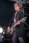 Tom Petersson of Cheap Trick performs during the 2013 Rock On The Range festival at Columbus Crew Stadium in Columbus, Ohio.