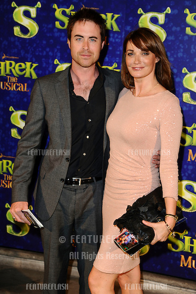 "Sarah Parrish arrives for the 1st night party of ""Shrek The Musical"" at Somerset House, London. 14/06/2011  Picture by: Steve Vas / Featureflash"