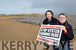 MAurice Murphy Glenbeigh left and Paul Inglis Dooks who are organising a against Oyster Farming in Rossbeigh on Sunday