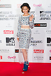 June 23, 2012, Chiba, Japan - BENI poses on the red carpet during the MTV Video Music Awards Japan event. (Photo by Christopher Jue/AFLO)
