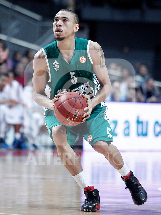 Zalgiris Kaunas' Ibrahim Jaaber during Euroleague 2012/2013 match.January 11,2013. (ALTERPHOTOS/Acero)