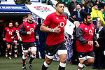 England's Luther Burrell heads out to warm up before the match - RBS 6 Nations - England vs Italy - Twickenham Stadium - London - 14/02/2015 - Pic Charlie Forgham-Bailey/Sportimage