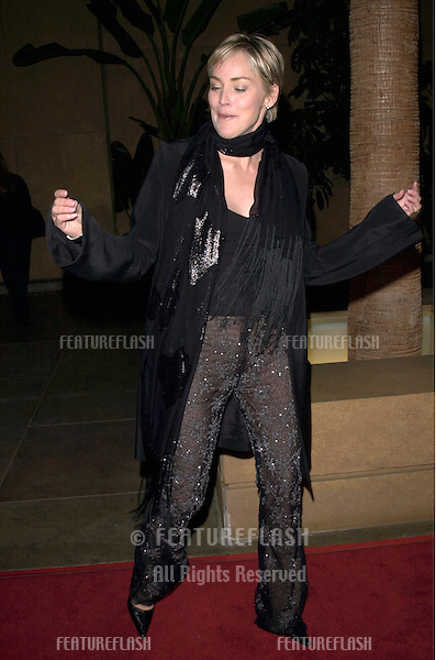 "13DEC99: Actress SHARON STONE at the Los Angeles premiere of her new movie ""Simpatico."".© Paul Smith / Featureflash"