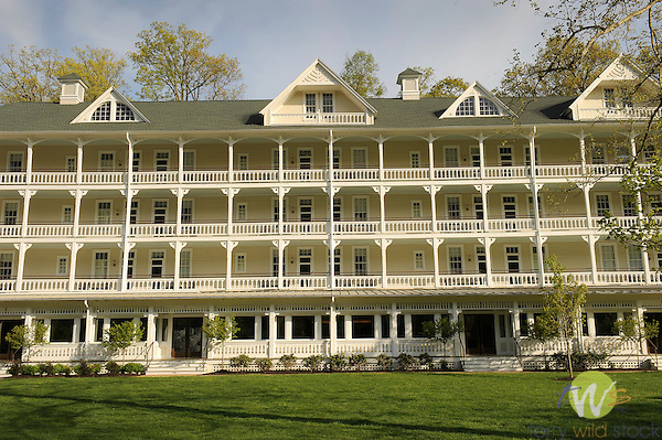Bedford Springs Hotel and Resort. Managed by Omni Corporation.