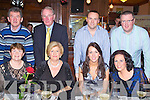 NEW YEAR PARTY: Having great fun at the New Year's party at the Station House restaurant and bar, Blennervillie on Friday seated l-r: Breada Hussey, Noreen O'Callaghan, Linda O'Callaghan and Deirdre O'Callaghan. Back l-r: Liam Hussey, Eugene O'Callaghan, Eoin O'Callaghan and Frank O'Callaghan..