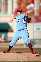 May 29th 2008:  Andrew Carpenter of the Reading Phillies, Class-AA affiliate of the Philadelphia Phillies, during a game at Jerry Uht Park in Erie, PA.  Photo by:  Mike Janes/Four Seam Images